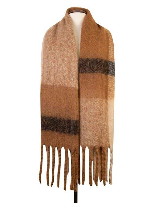 Brushed Blanket Scarf