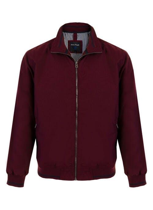 Wine Zip Jacket