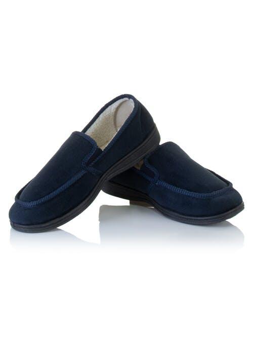 Navy Slipper