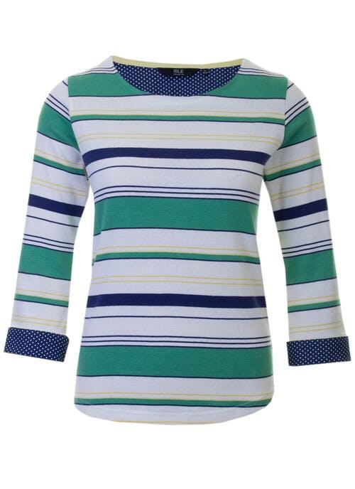 Green Stripe Top
