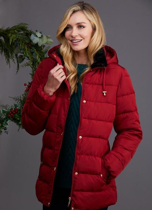 Red Padded Coat