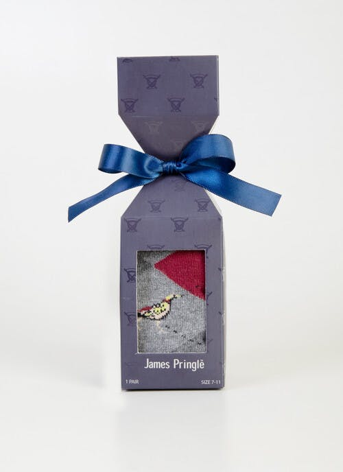 Single Pheasant Gift Box Sock