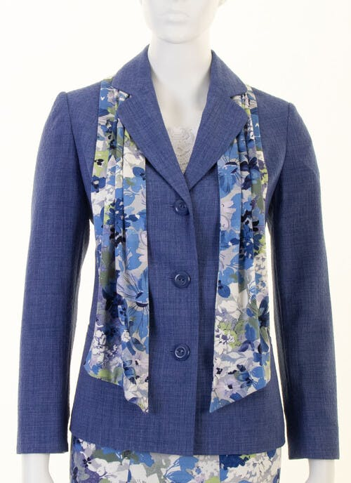 Blue Tailored Jacket